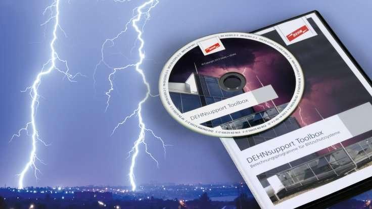 Blitzschutzsysteme Digital Planen Dehnsupport Toolbox